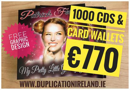 CD Duplication Radio Promotion Package