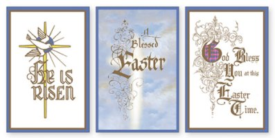 12 Easter Cards.