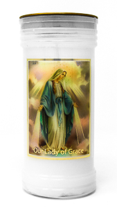 Miraculous Pillar Candle.