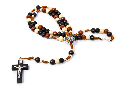 Rosary Beads on Cord.
