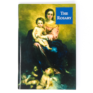 The Rosary Colour Illustrated Book.