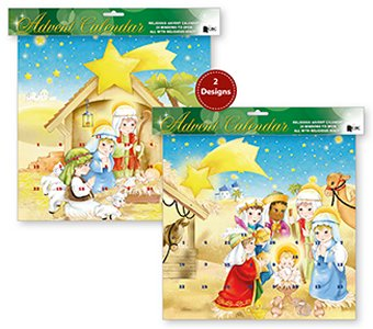 Joseph Mary & Baby Jesus Advent Calendar.