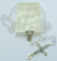 Birthstone Rosary Beads - April