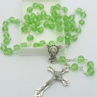 Birthstone Rosary Beads - May