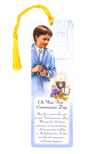 Communion prayer & bookmark.