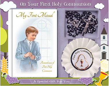 Communion Rosette & Gift Set