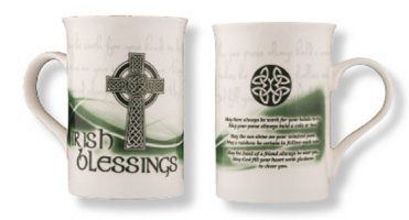 Irish Blessing - Bone China Mug / Cup.