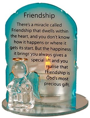 Angel Candleholder - Friendship.