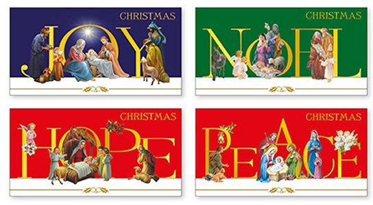 12 Christmas Cards Boxed.