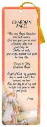 Laminated Bookmark - Guardian Angel