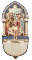 Holy Family Luminous Holy Water Font.