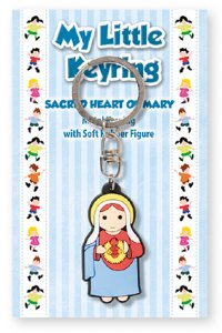 Immaculate Heart of Mary Key Ring.