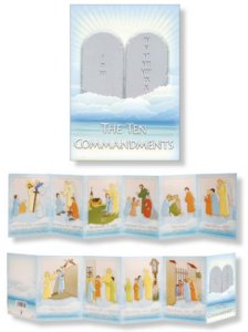 Booklet of the The Ten Commandments.