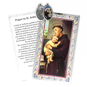 Novena to St Anthony with Medal.