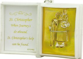 Saint Christopher Figurine.