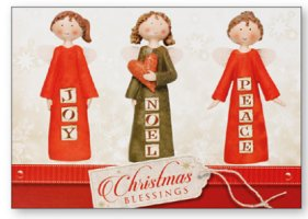 Christmas Plaque Peace Joy Noel.