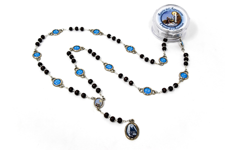 Rosary Beads Marking all the 18 Apparition Dates.