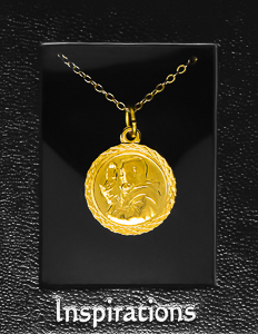 St Francis Necklace.