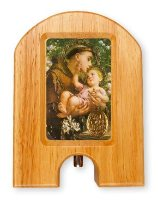 St.Anthony Wood Holy Water Dispenser.