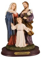 Holy Family Statue.