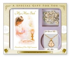 Girls First Holy Communion Gift Set..